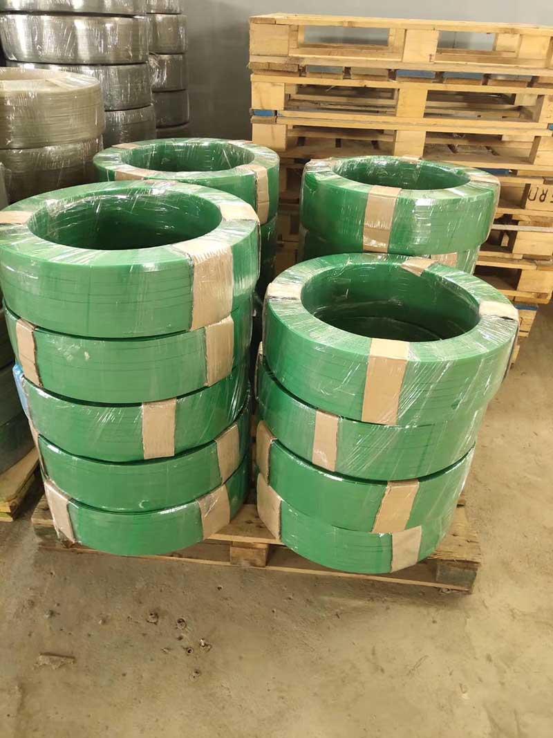 Pneumatic Packing Machine for Pe Green Belt